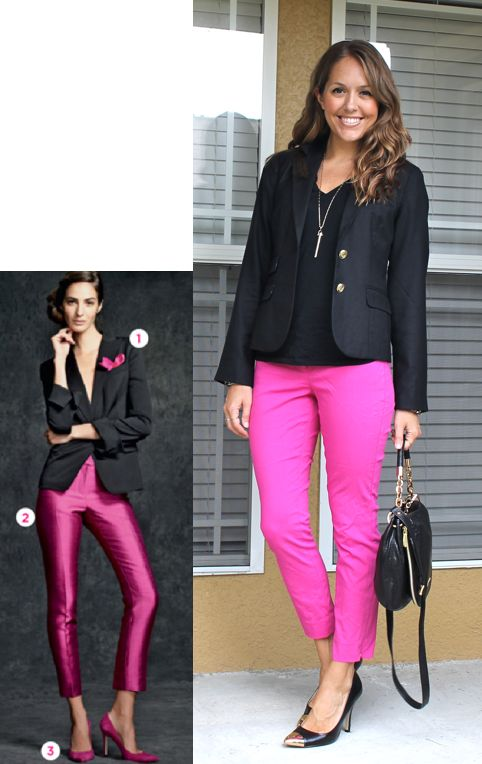 42 best Hot Pink Pants images on Pinterest | Hot pink pants Hot pink and Colored pants
