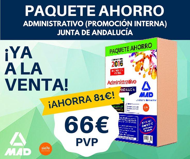 Paquetes ahorro administrativo (promoción interna) Junta de Andalucia