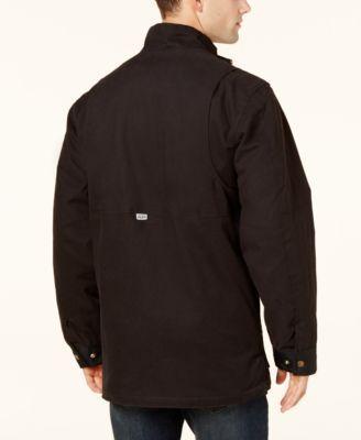 Dickies Men's Flex Mobility Duck Coat - Black XL