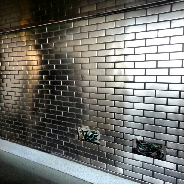 Urban Chic Decor is design  love this tile for any client facing areas, like the front facing side of the check-in counter
