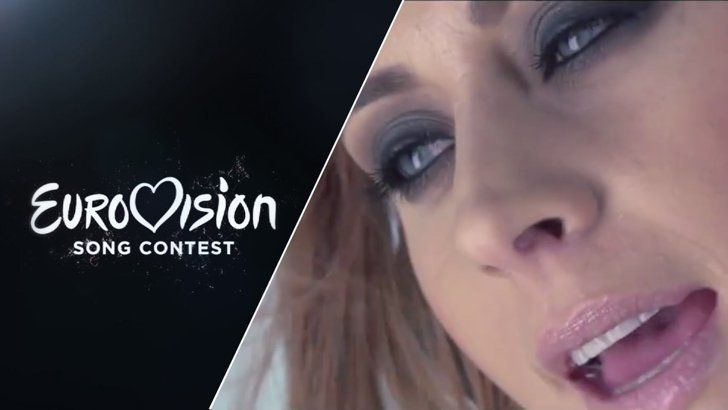 """Pin for Later: Listen to Every Single Song From the 2015 Eurovision Song Contest Slovenia Maraaya — """"Here For You"""""""