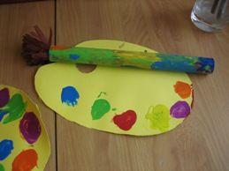 17 beste idee n over kunst activiteiten op pinterest activiteiten kleuterschool - Ruimte van het meisje verf idee ...