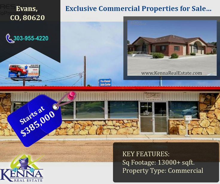 Exclusive Commercial Properties for Sale… www.KennaRealEstate.com #Home, #Forsale, #Property