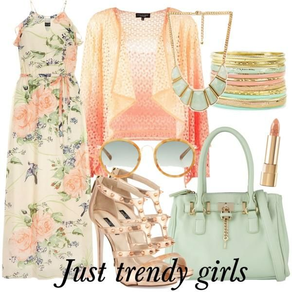 maxi dress in floral prints  Maxi summer dresses for  girls http://www.justtrendygirls.com/maxi-summer-dresses-for-girls/
