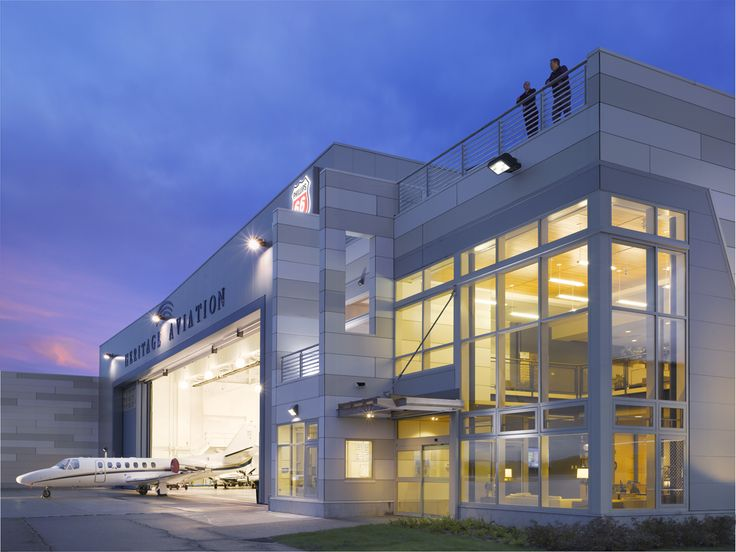 The Air National Guard Hangar At Burlington Airport Vermont Designed By