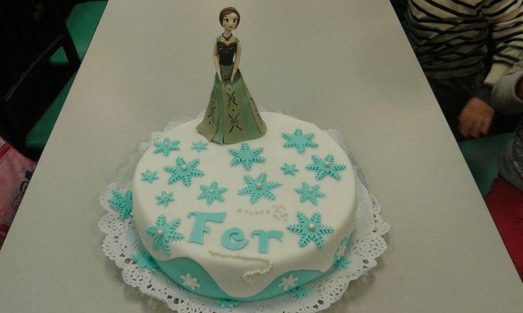 Princesa Ana de Frozen...
