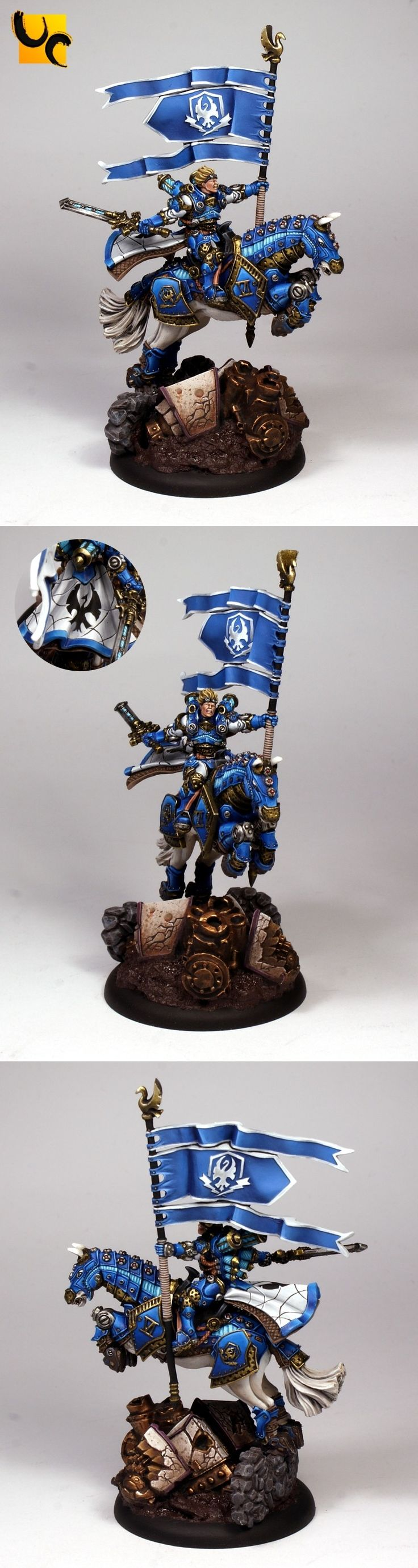 CoolMiniOrNot - Lord General Coleman Stryker by UnlimitedColours
