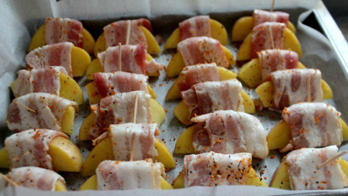Fantastické brambory ve slanině! Jednoduché a rychlé! – Milujeme recepty