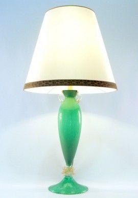 Table crystal lamp - Pulegoso/Green  BUY IT NOW ON www.dezzy.it!