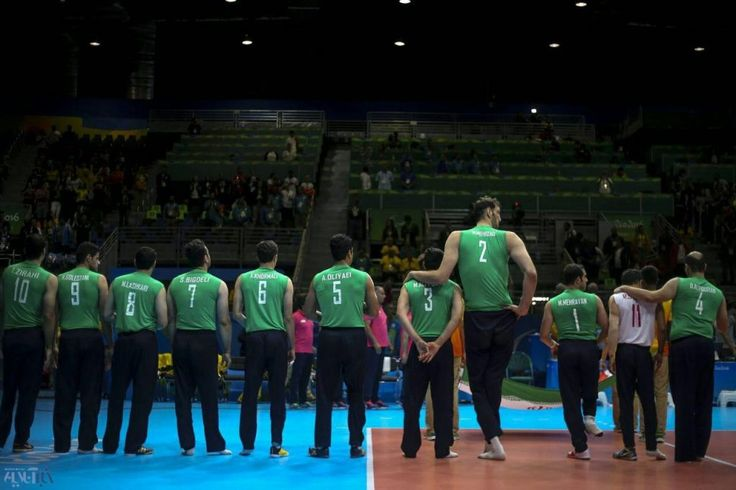 Morteza Mehrzad | 2 m 46 cm The tallest volleyball player in the world | Paralympic Games Rio 2016 publish at 07.10.2016