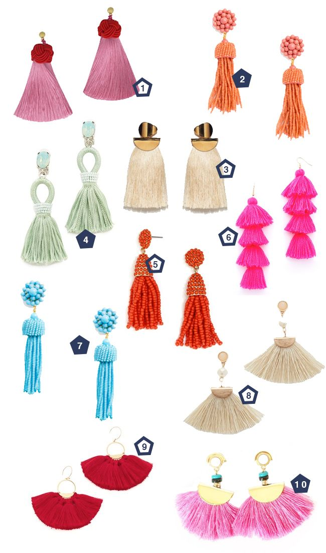 Tassel earrings are all the rage this year and we can't get enough of them! We've made the hunt easy for you and rounded up 10 of our favorites! These cream tassels would be perfect for wedding day and we love these hot pink earrings as bridesmaids gifts! One // Two // Three // Four...Read More