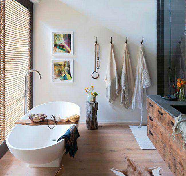 Die besten 25+ kleines rustikales Badezimmer Ideen auf Pinterest - kleine badezimmer gestalten
