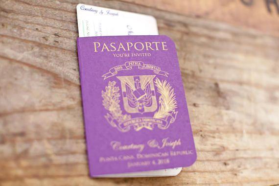 Destination Wedding Invitations Passport: Best 25+ Passport Wedding Invitations Ideas On Pinterest