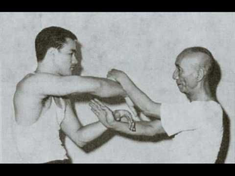 Rare Footage Of Bruce Lee's Teacher Yip Man Training Days Before His Death - Neatorama