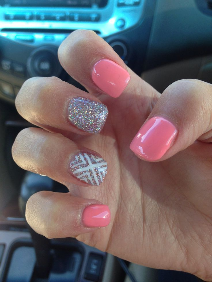 Plain Acrylic Nail Designs - http://www.mycutenails.xyz/plain-acrylic-nail-designs.html