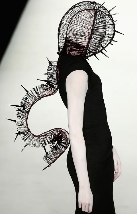 High fashion | macabre | surreal | occult | goth | editorial | dark fashion | runway | catwalk