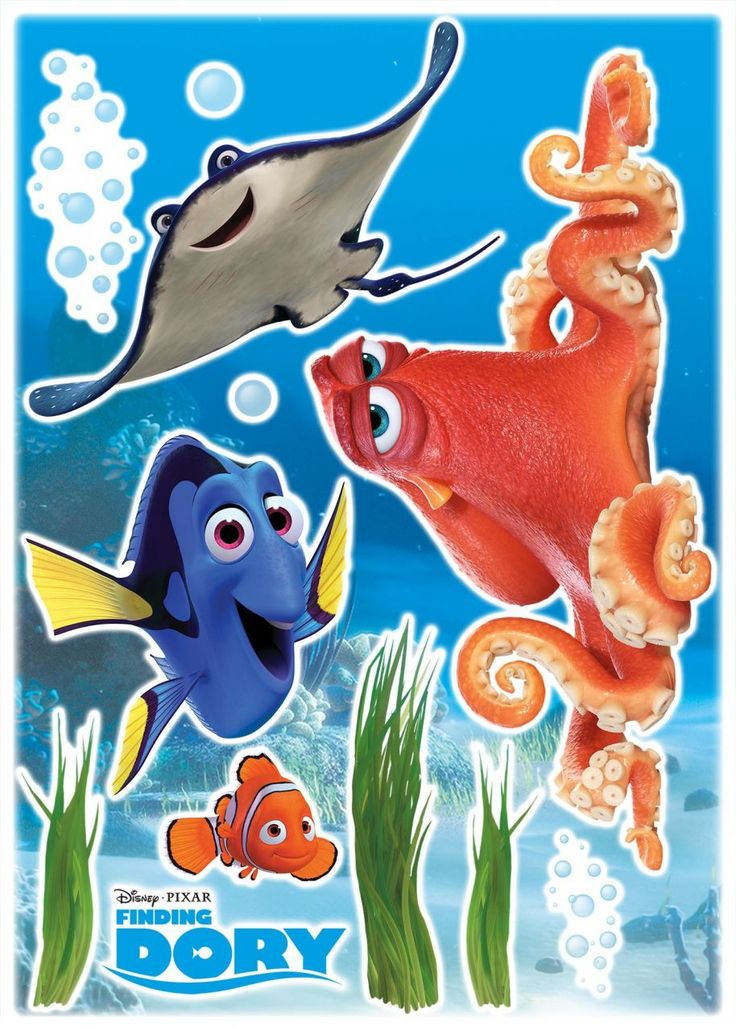Trend Deco Sticker Dory and Friends Jetzt bestellen unter https moebel ladendirekt de dekoration wandtattoos wandtattoos uid udcaaac a bd