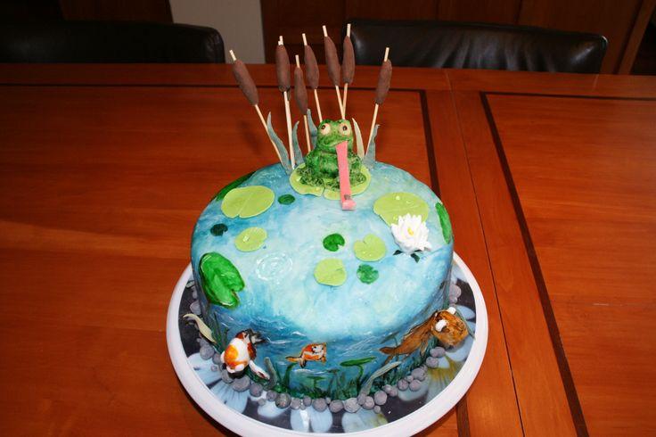 3D onderwater taart