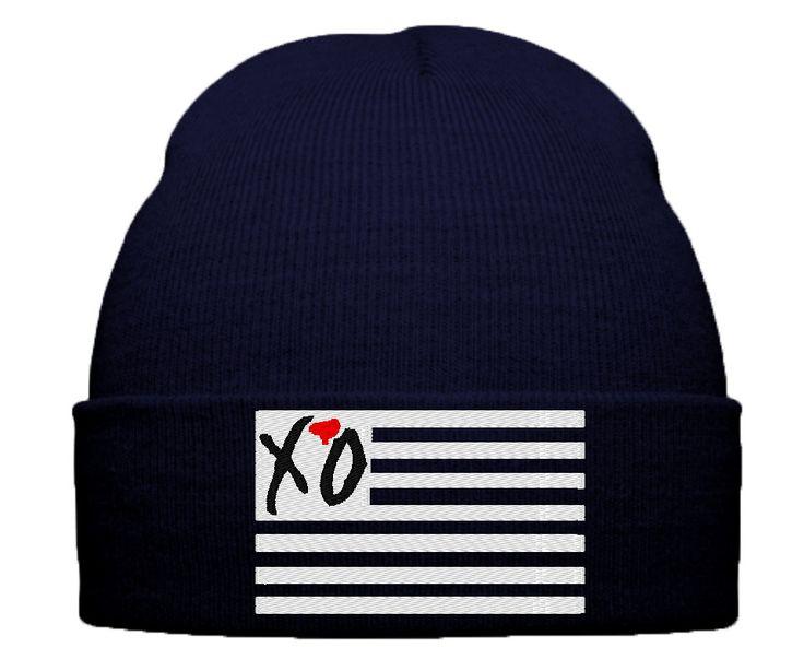 xo the weeknd beanie winter hat thursday album cover xo ovoxo xo the w
