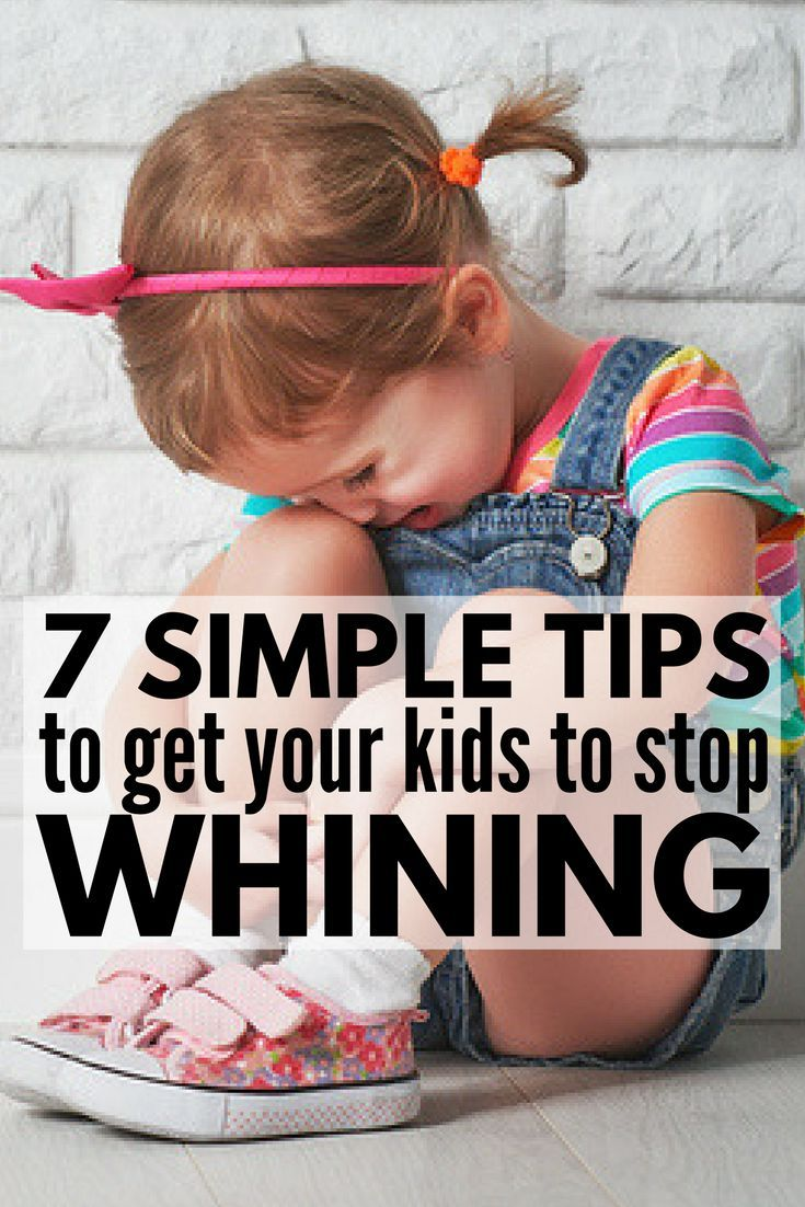 How to Stop Kids from Whining | Want to know how to get a child to STOP whining without yelling? Toddlers in particular are prone to crying and throwing temper tantrums when they can't get their way, but older kids can make parenting just as difficult! These sanity-savers for moms will give you parenting tips and strategies to help you manage big emotions, and prevent them from happening in the first place. #parenting #parenting101 #parentingtips
