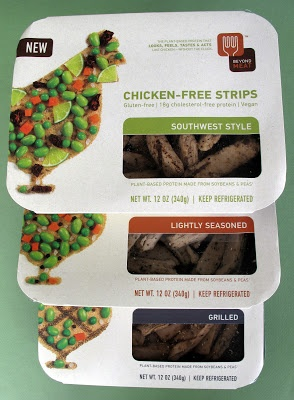 Don't typically use vegan meat but this stuff is great and a huge time saver! Beyond Meat Chicken-Free Strips.
