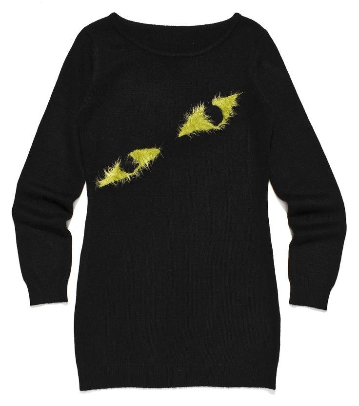 ft-73, czarna tunika z żółtymi oczami