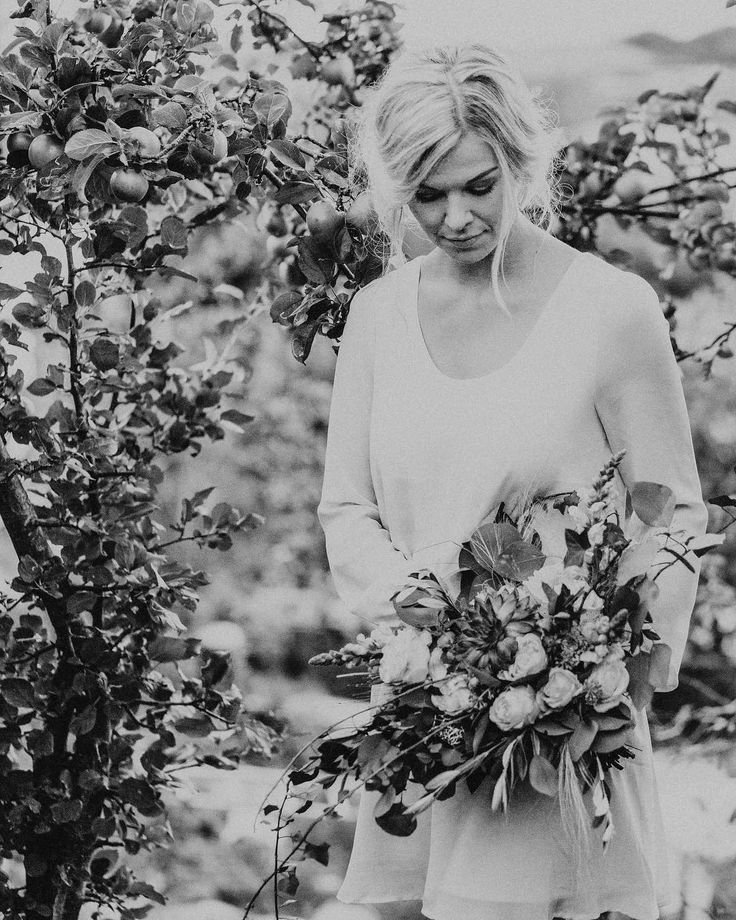 I love relaxed bohemian brides <3