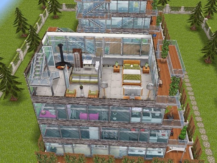 House 95 gated apartments level 4 #sims #simsfreeplay #simshousedesign