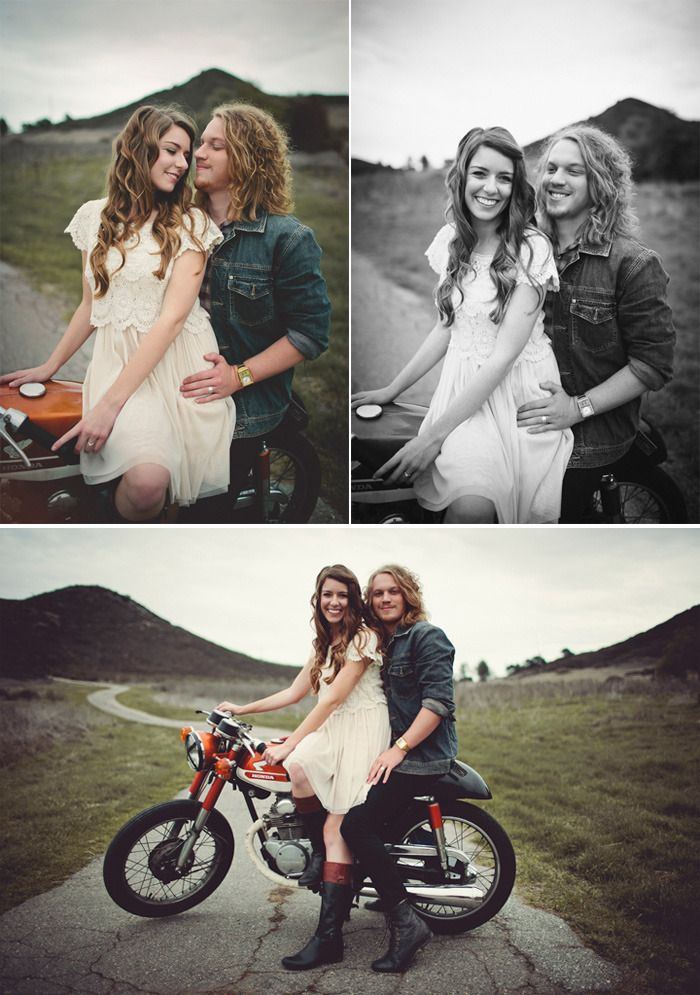 How cute is this engagement session?