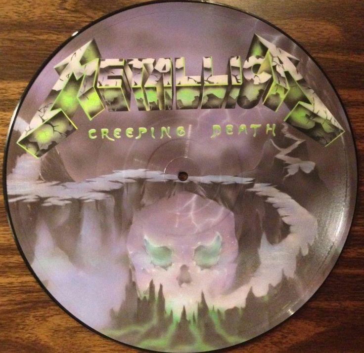 ON SALE TODAY ! Metallica / Creeping Death / Am I Evil / Picture Disc / RARE / Vinyl LP Record #OriginalMetal