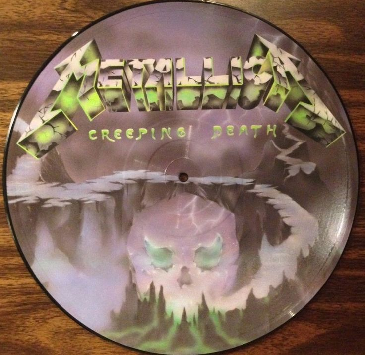 Metallica Creeping Death Am I Evil Picture Disc
