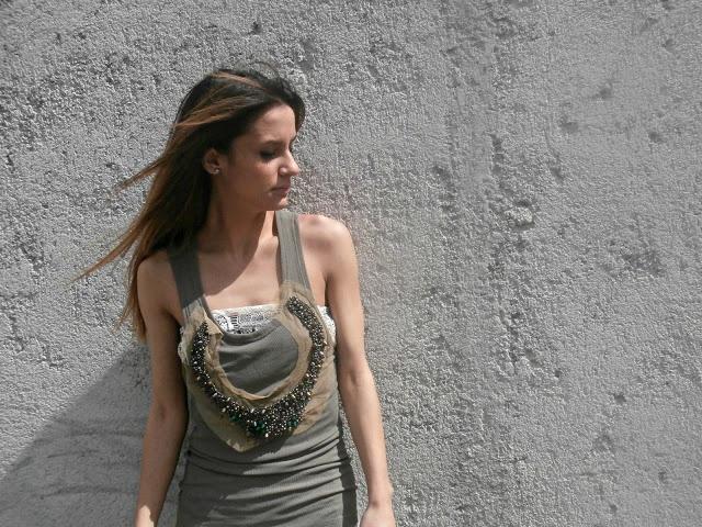 #martinacancellotti wearing #DENVER #top #lace #boho #gipsy #outfit #summer #blogger #glamourmarmalade #danielacolombo #italy
