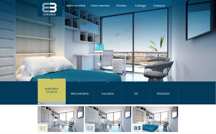 Sitio web para EUROBED - Año ©2015
