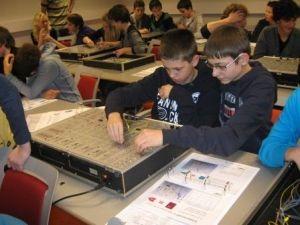 Onderwijs. Techniek op school. Inzetten op meer leerlingen die kiezen voor techniek.