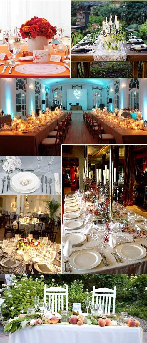 Wedding Reception Table Layout Plans