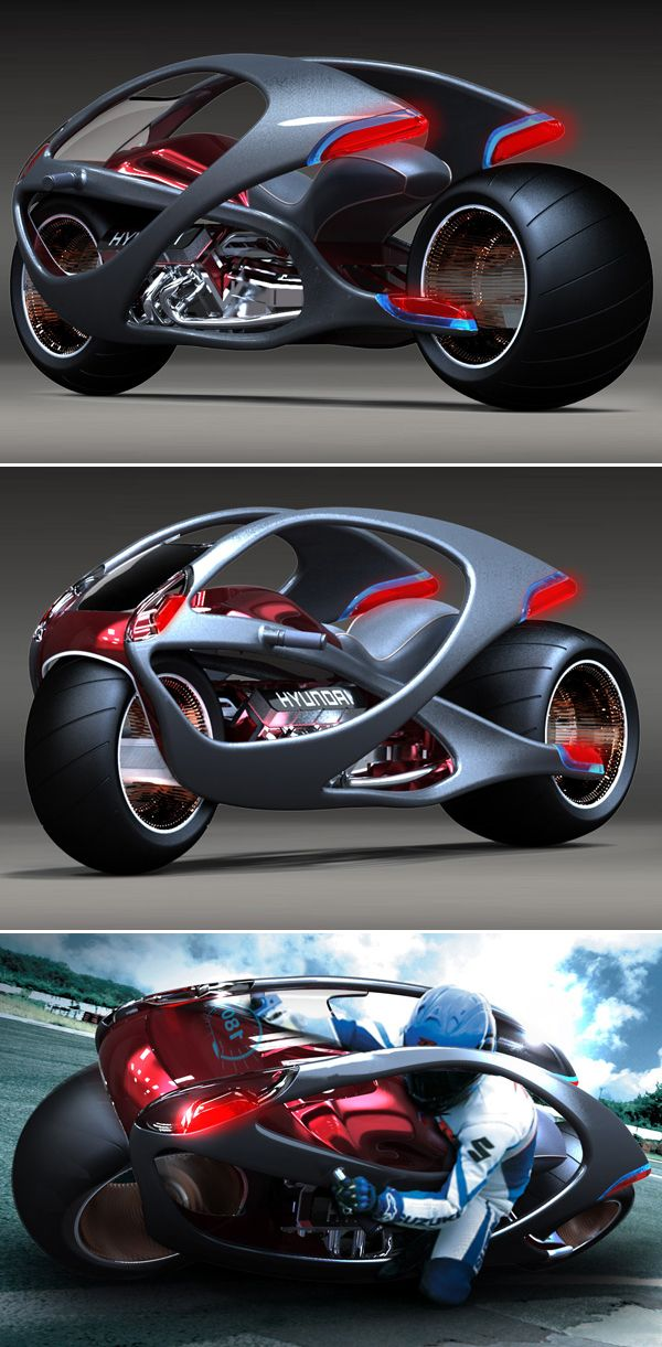 Hyundai Motor Bike Concept Visit my new website & tell me what you think about it please >> #bloggabout.com