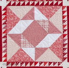 Rubies, Diamonds and Garnets, Too...A Sparkling Block-of-the-Month Quilt