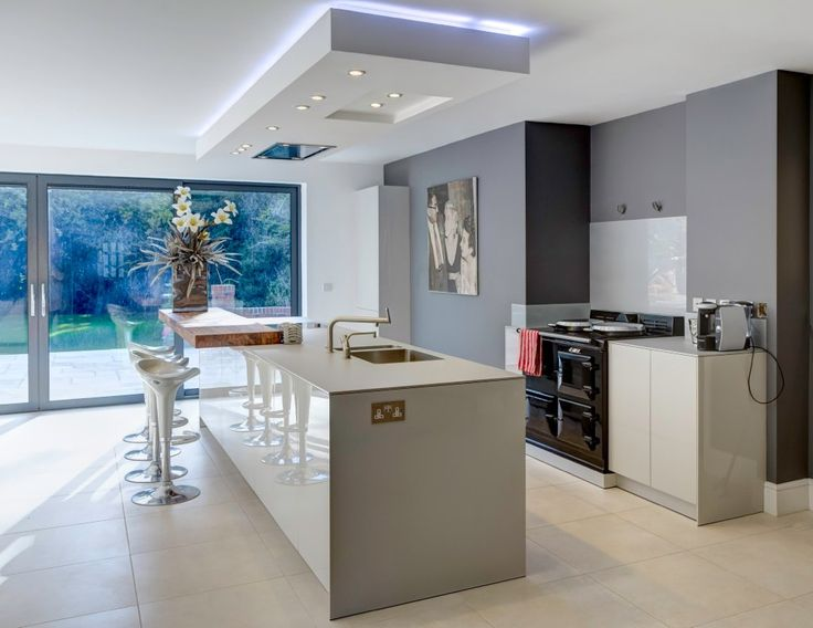 https://flic.kr/p/boVaUc | Contemporary bulthaup b3 kitchen with Aga