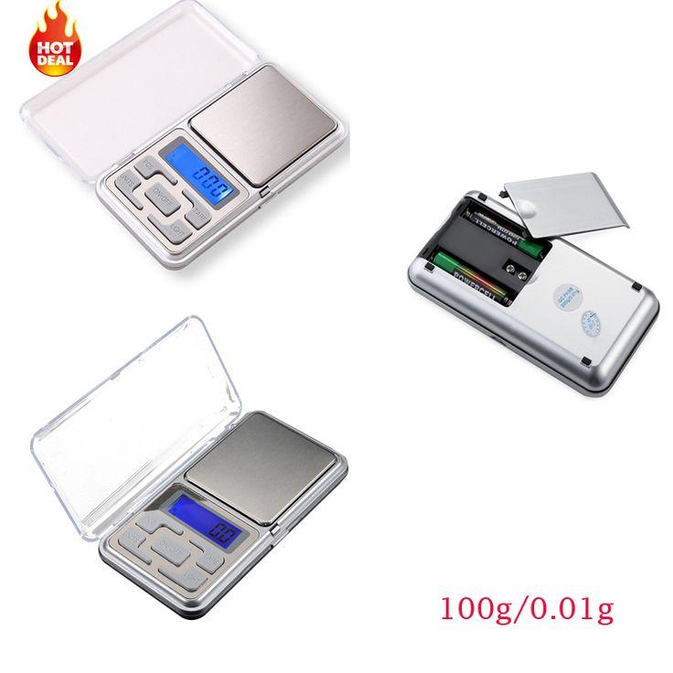 Pocket mini Digital 100g/ 0.01g Digital Factory Price Mini Weigh Scale Balance Jewelry electric LCD display school weighing