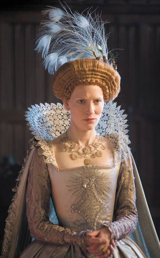 Cate Blanchett portrays the role of ''Queen Elizabeth I