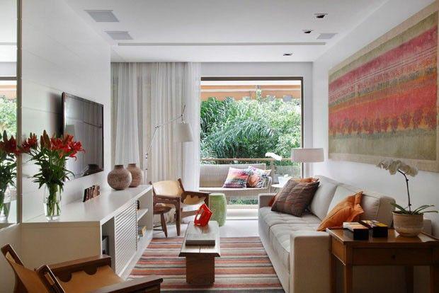 Apê carioca dribla pouca metragem - Casa Vogue   Apartamentos