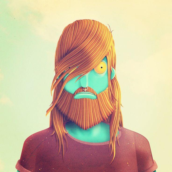 BAKEA: 3D Character, Concept Art, Illustration, Glasses Art, Character Design, Cartoon Character, Juan Carlo, Carlo Peace
