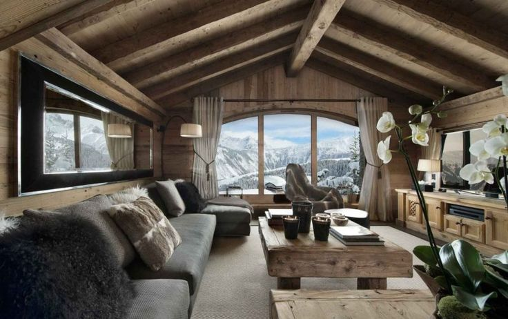 Chalet Pearl Ski Lodge Guarantees A Breathtaking Holiday In The French Alps | Interior Design inspirations and articles