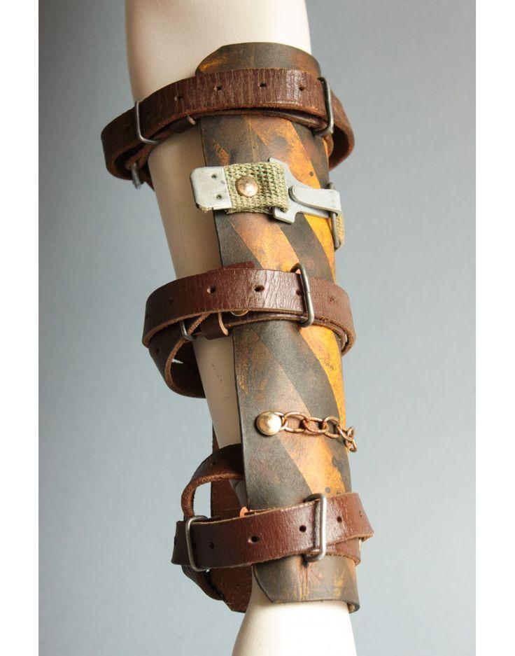 Post Apocalyptic Leather Bracer