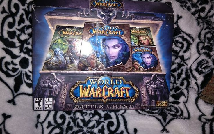 World Of Warcraft Battle Chest PC Game Set Windows/Mac 2007 #Blizzard