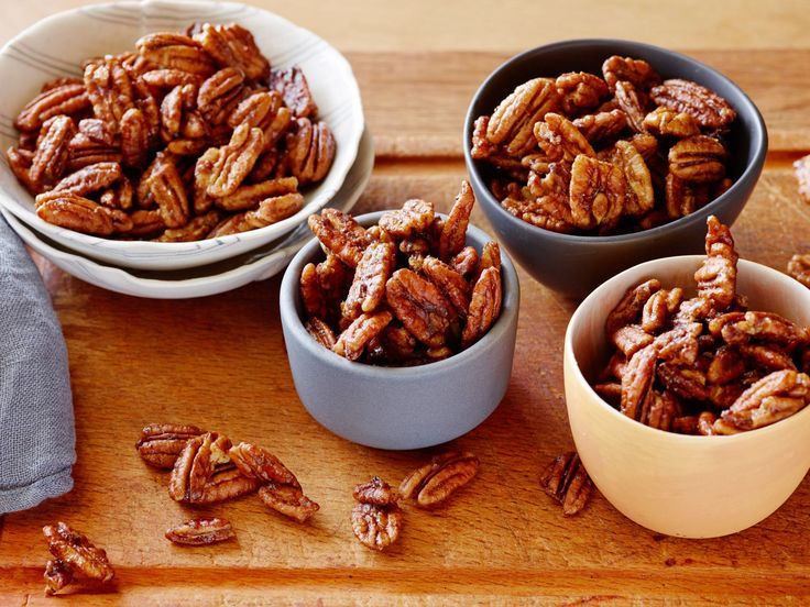 Spiced Pecans recipe from Alton Brown via Food Network