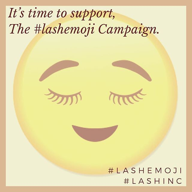 Team Lash Inc Have Put A Case Together For A Lash Emoji We Now Need To Prove There Is A Demand Once We Have This Evidence We Will Subm Lashes Emoji