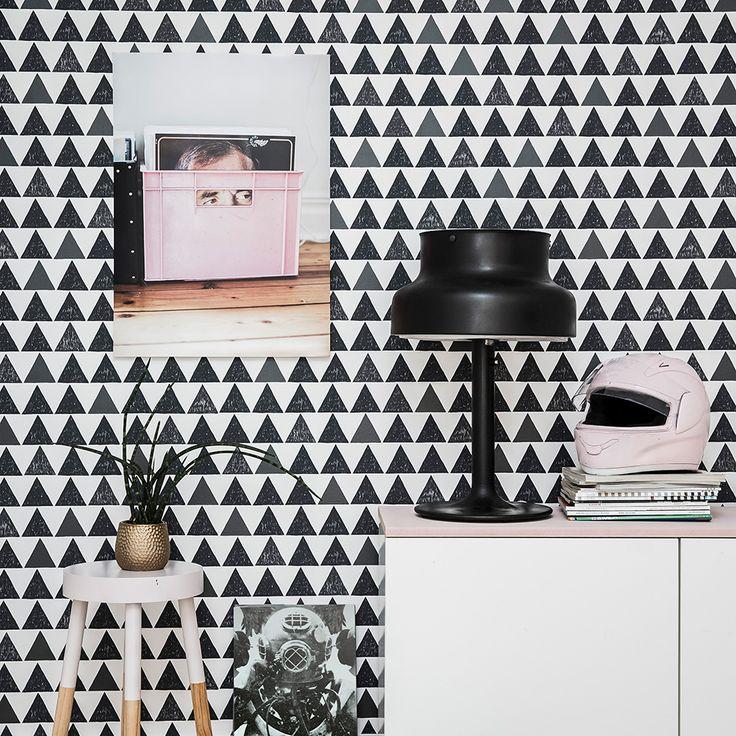 25+ ide terbaik tentang Tapeten mit muster di Pinterest Wand - abwaschbare tapeten für die küche