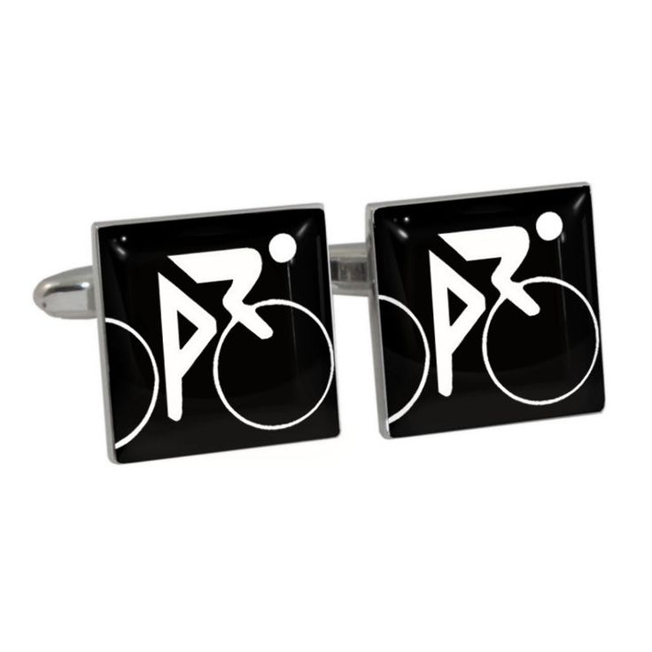 Cycling Olympic Sign Cufflinks Gift Boxed bicycle cycling bicyclist bike NEW #1StopCufflinkShop