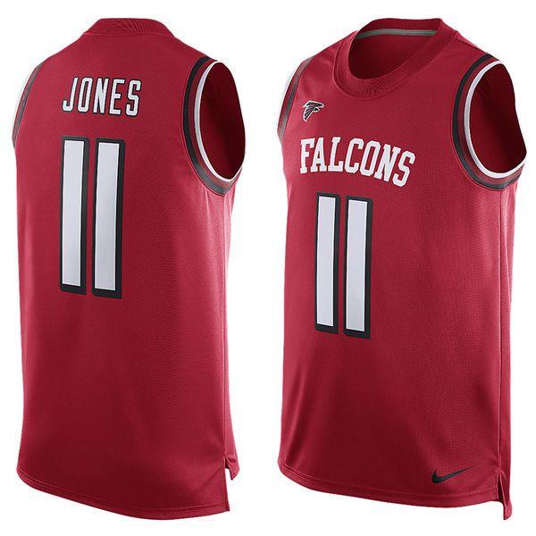 af932f3dc ... Team Julio Jones Atlanta Falcons Nike Player Name Number Tank Top - Red  - 59.99 ...